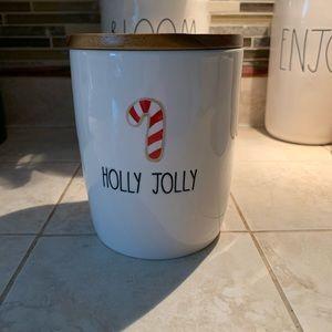 🎅🏻 Holly Jolly Rae Dunn Christmas Canister 🤶🏻